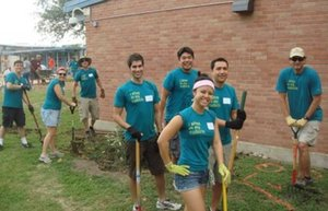 Adlucent at Spring Service Day