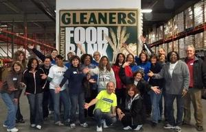 Comerica works with Gleaners Community Food Bank