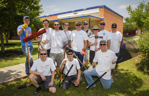 SailPoint volunteers at Elementary Schools